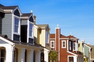 Neighborhood of Traditional Style Houses